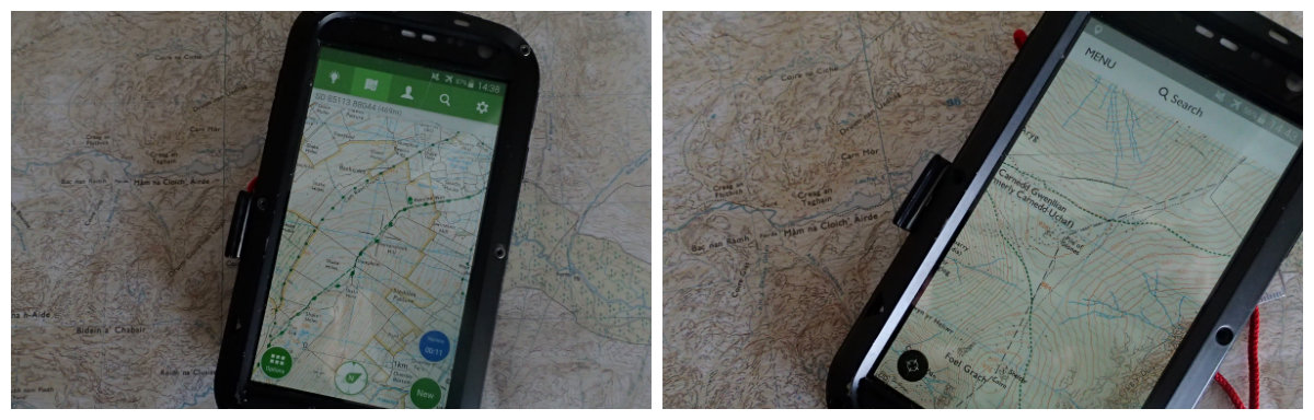 Smartphones are only useful for navigation if they have offline tools