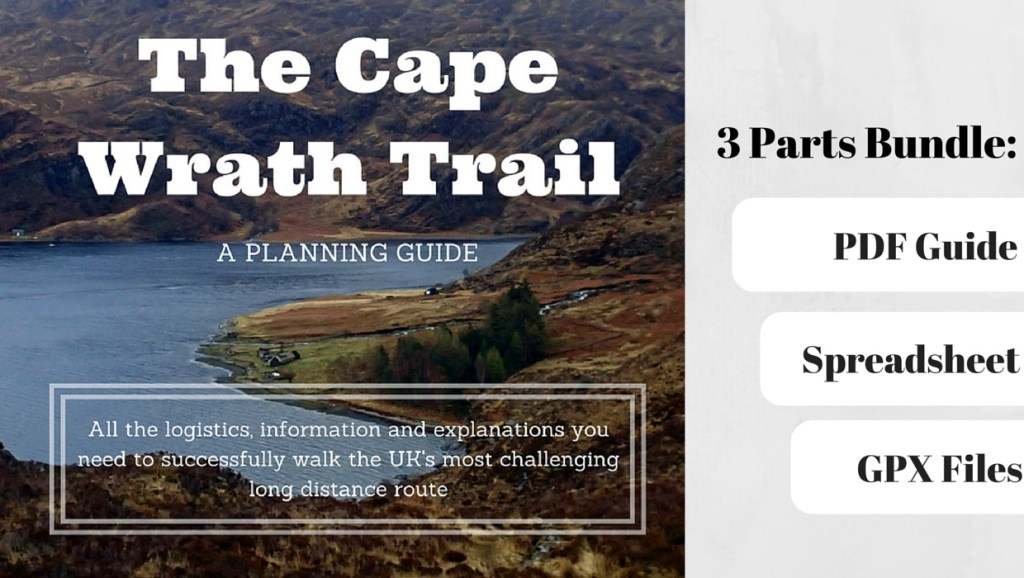 Cape Wrath Trail Planning bundle