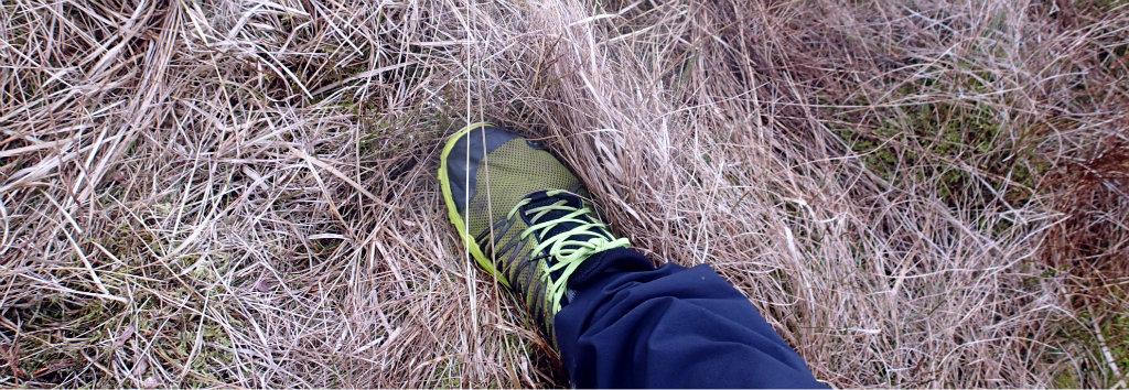 Lighter footwear means less fatigue