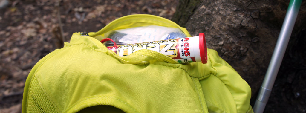 High5 Zero electrolytes to support salty snacks