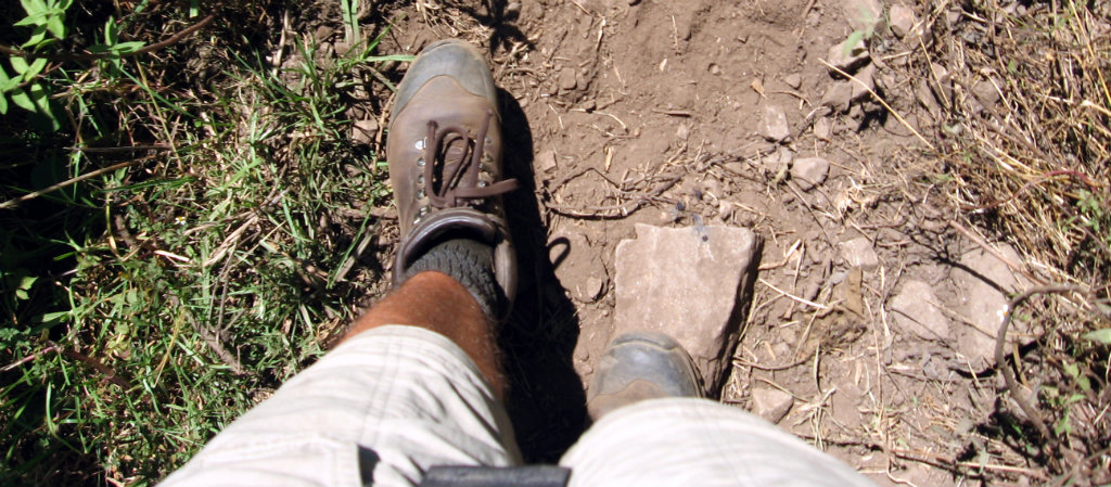 There is something about good sturdy boots made just for you