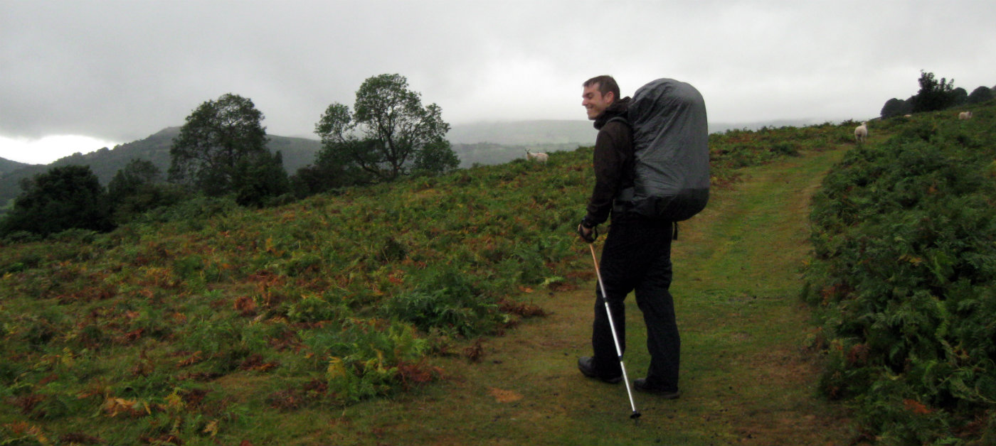 My last trip with hiking boots: Offa's Dyke between England and Wales
