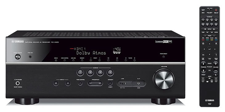 best Av receivers for music