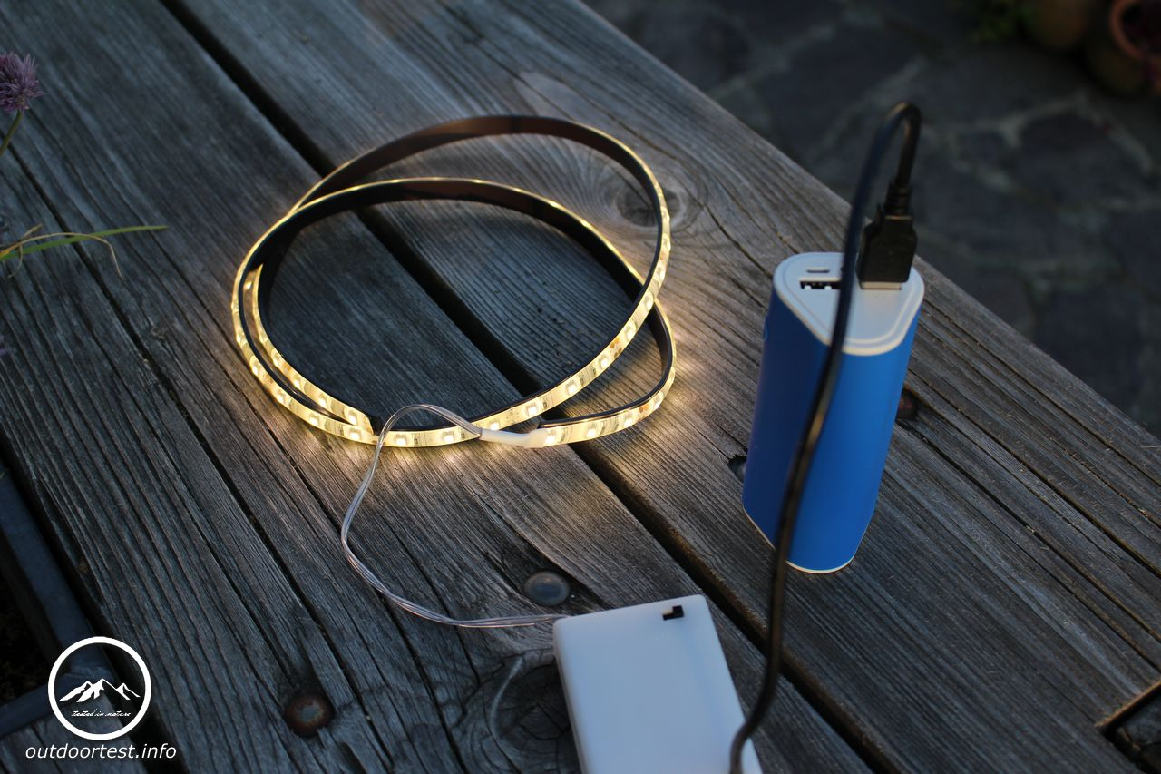 LED-Beleuchtung magnetisch - Campwerk - Outdoortest.info - tested in ...