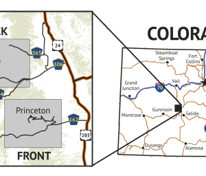 14ers Map Series 8 of 16 location overview