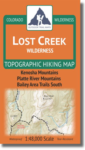 Cover of Lost Creek Wilderness Hiking Map