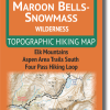 Cover of Maroon Bells-Snowmass Wilderness Hiking Map