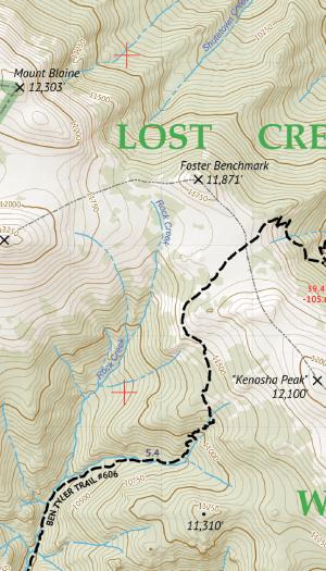 Lost Creek Wilderness Map Crop 1