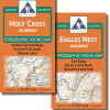 Map covers of the Vail Hiking Map Pack