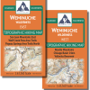 Map covers of the Weminuche Wilerness Map Pack