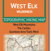 Cover of West Elk Wilderness Hiking Map