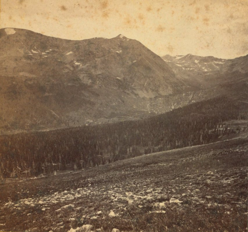 Mount Lincoln in the late 1800s