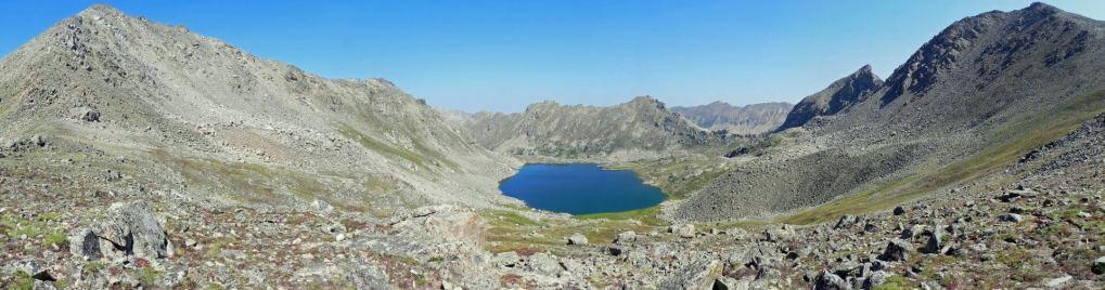 Lost Man Lake in the Hunter-Fryingpan Wilderness