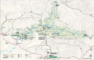 Dinosaur National Monument Map thumbnail