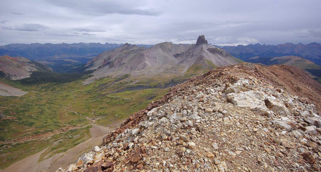 Lizard Head Wilderness Cross Peak Ridge