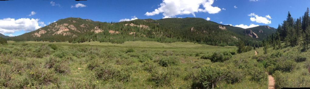 Lost Park in the Lost Creek Wilderness