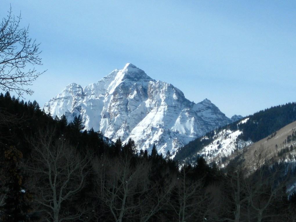 Pyramid from Aspen Highlands