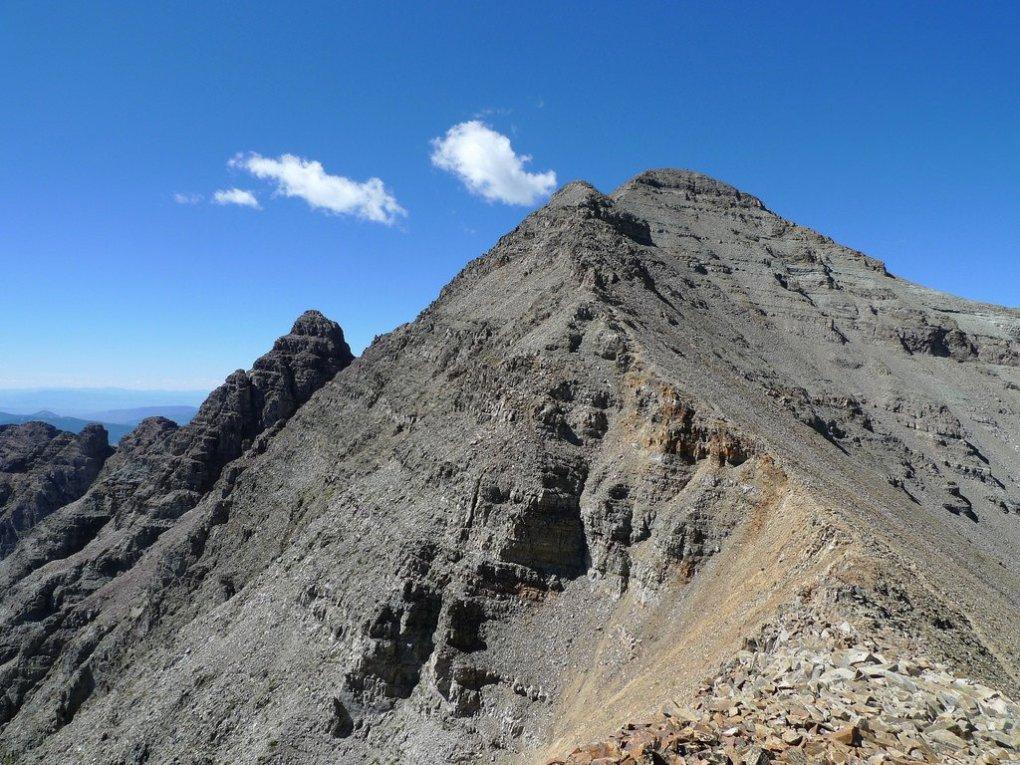 Trail up Castle Peak, Colorado