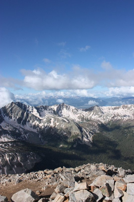 View of the Apostles from Huron Peak