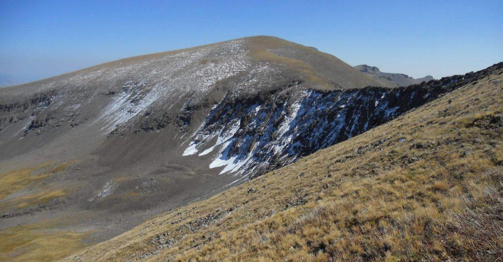 West Elk Peak in the West Elk Wilderness Colorado