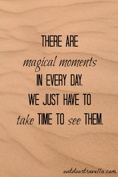 Magical Moments Quote