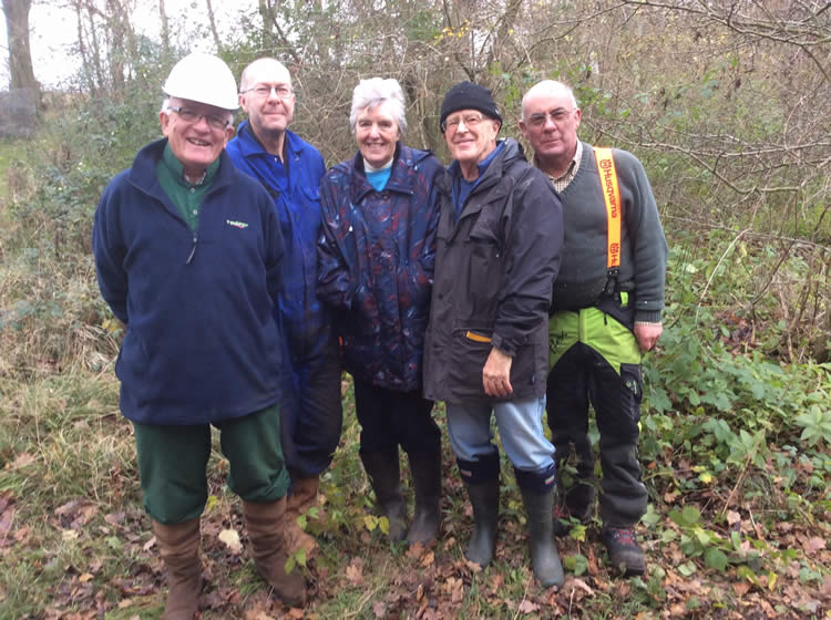 Woodland working grows well-being