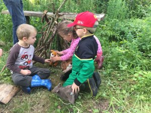 Woodland activity session for families with SEN children @ Oxlip Wood   Sudborough   England   United Kingdom