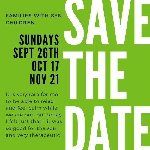 SEN poster events