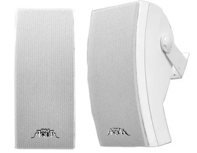 PYLE PLMR64W 5-Inch 3 Way IndoorOutdoor Speakers
