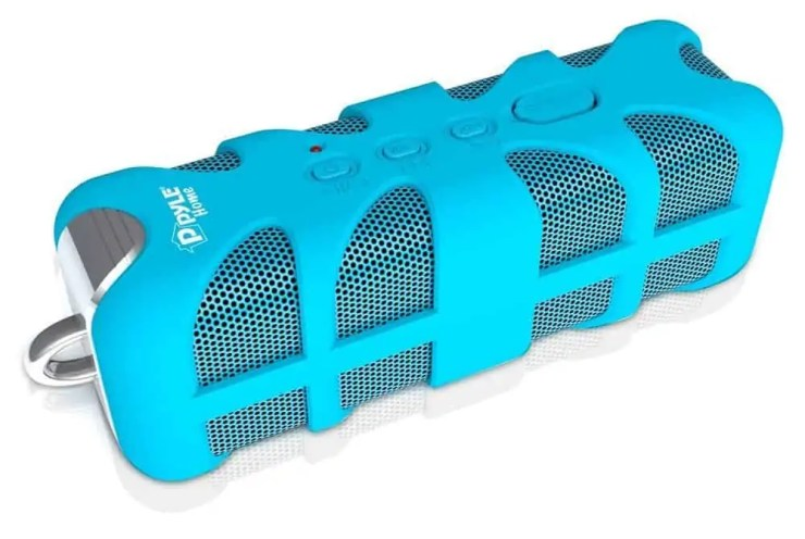 Pyle PWPBT60OR Sound Box Splash Blue