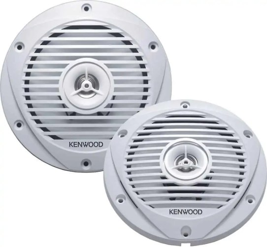 Kenwood KFC-1652MRW 6.5-Inch Two-Way Marine Speaker System