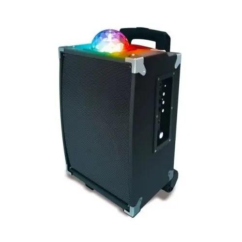 Sharper Image SBT1009BK On-The-Go Bluetooth Party Speaker