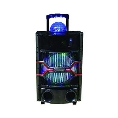 SuperSonic IQsound Wireless Bluetooth Portable DJ Speaker System