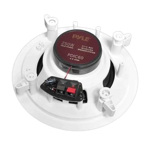 Pyle Pro PDIC60 2-Way In-Wall In-Celing Speakers 3