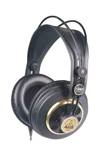 AKG K240 STUDIO Semi-Open Studio Headphones
