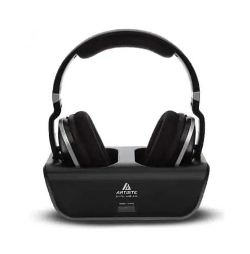Artiste ADH300 Wireless Headphones for TV