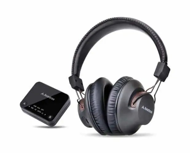 Avantree HT4189 Wireless Headphones with Transmitter