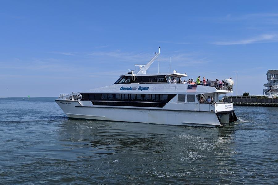 Cooper authorizing Ocracoke passenger ferry lease