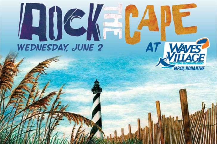 June 2: Rock The Cape to Celebrate Music and Art on Hatteras Island