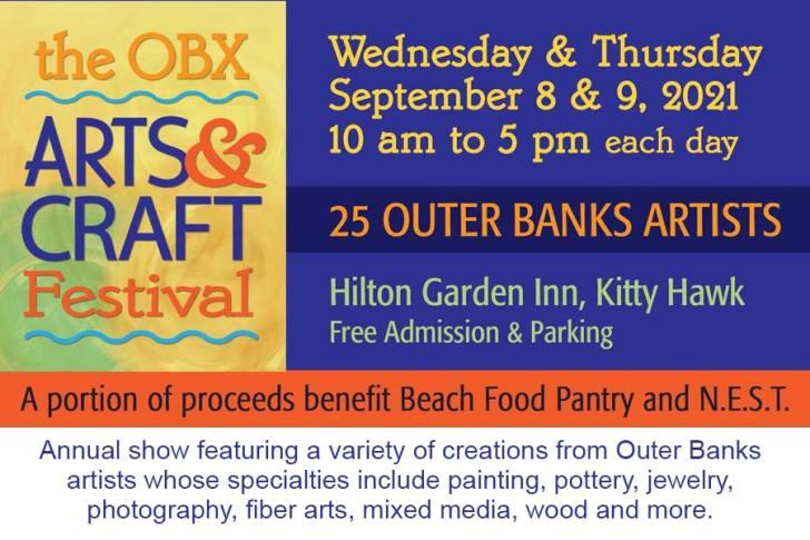 The OBX Arts & Craft Festival returns in September