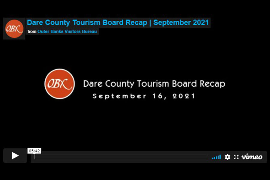 Dare County Tourism Board Recap | September 2021