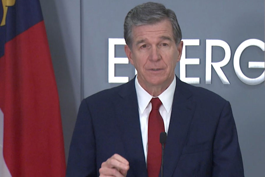 Cooper discusses sobering COVID numbers in NC