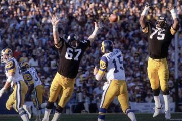 Roman Gabriel Show Throwback Rams DE and Hollywood Actor Fred Dryer