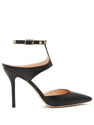 Strappy Black Heels by Valentino