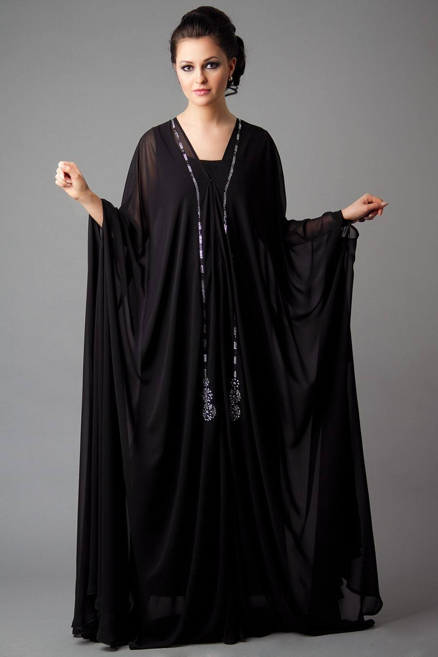 15 Most Popular Dubai Style Embroidered Abayas