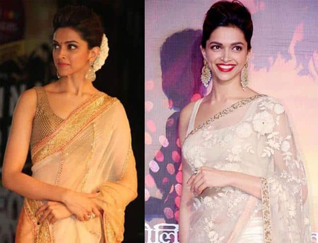 20 Cute Celebrities Inspired Hairstyles To Wear With Saree