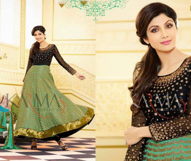 Stylish Indian Shilpa Shetty Eid Wear Collection