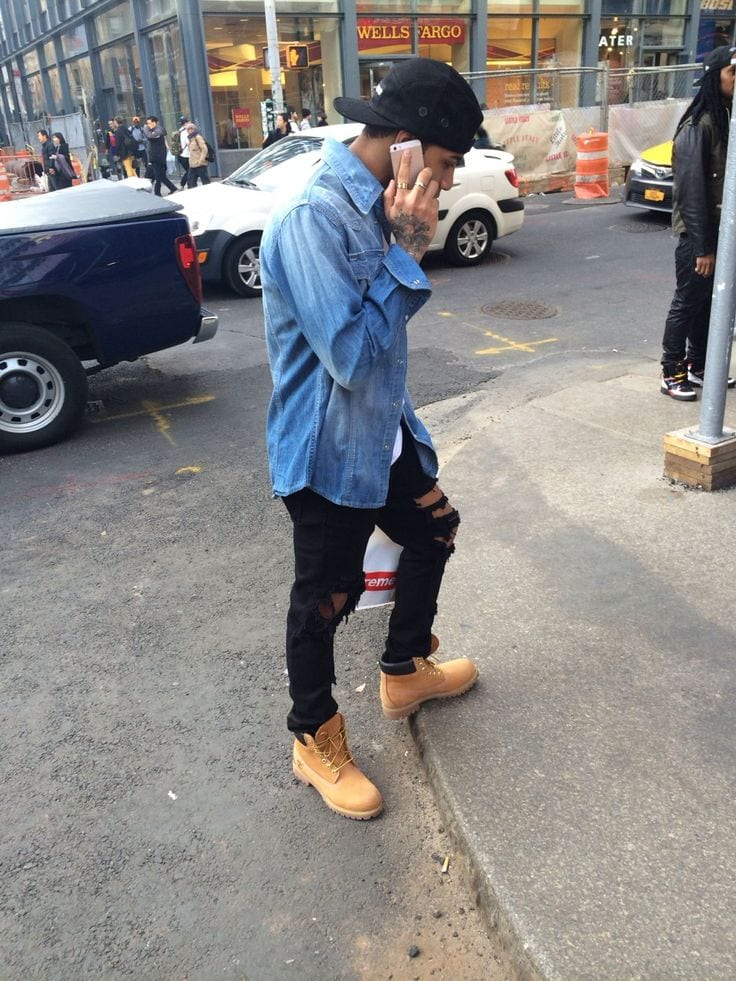 Image result for kids getting timberlands