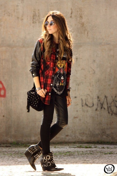 How To Dress Punk 25 Cute Punk Rock Outfit Ideas For Girls