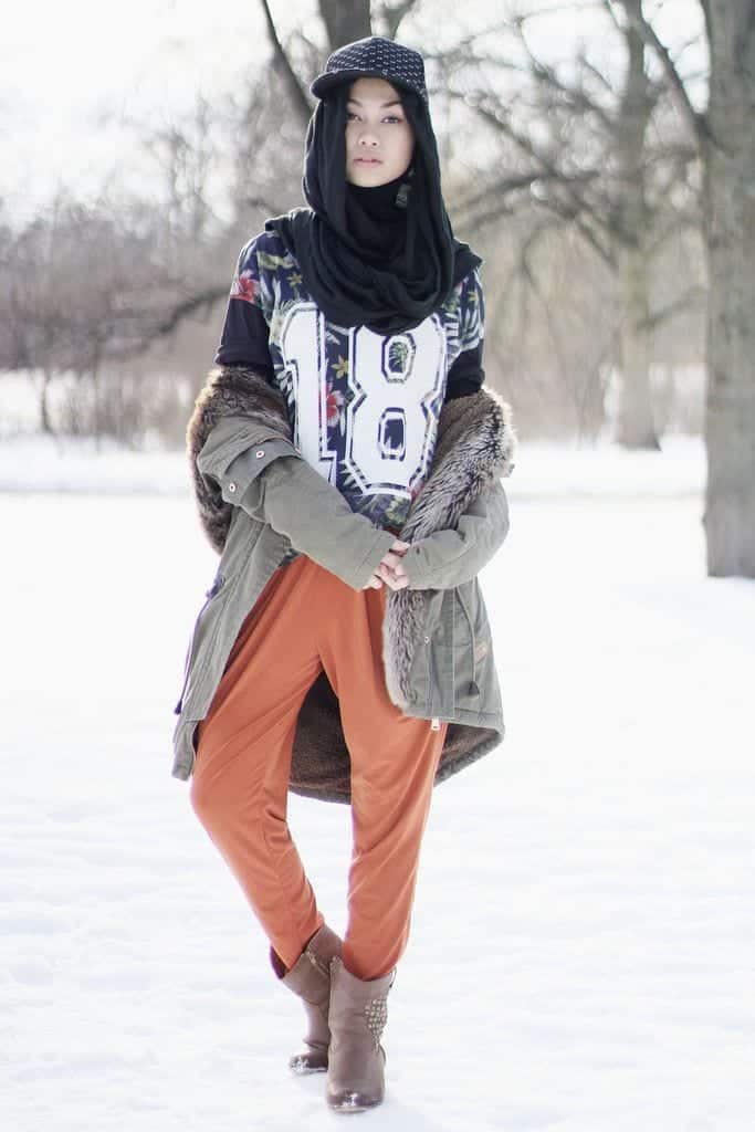 Hijab With Hats Styles 18 Modest Ways To Wear Caps With Hijab